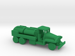 1/200 Scale CCKW Fuel Truck in Green Strong & Flexible Polished