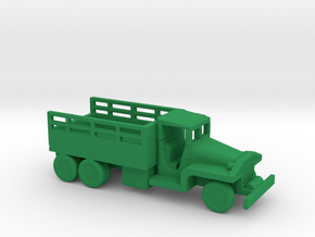 1/200 Scale CCKW Truck in Green Processed Versatile Plastic