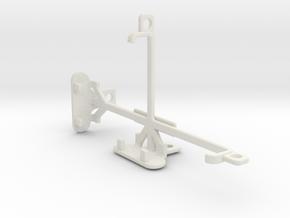 Sharp Aquos Crystal 2 tripod & stabilizer mount in White Natural Versatile Plastic