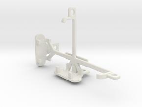 Sony Xperia E1 tripod & stabilizer mount in White Natural Versatile Plastic