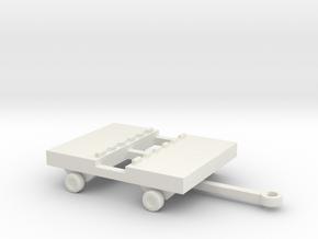 1/144 Scale Bomb Cart 2 in White Natural Versatile Plastic