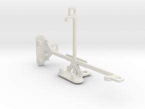 Sony Xperia E3 Dual tripod & stabilizer mount in White Natural Versatile Plastic