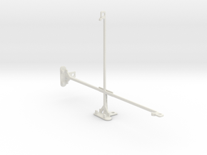 Sony Xperia Z2 Tablet LTE tripod mount in White Natural Versatile Plastic