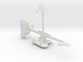 verykool s4007 Leo IV tripod & stabilizer mount in White Natural Versatile Plastic
