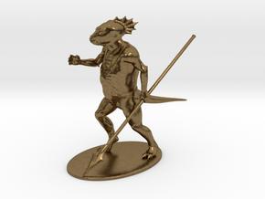 Troglodyte Miniature in Natural Bronze: 1:60.96