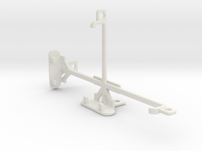 ZTE Grand S3 tripod & stabilizer mount in White Natural Versatile Plastic