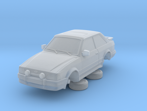 Ford Escort Mk4 1-87 2 Door Rs Turbo Hollow (repai in Smooth Fine Detail Plastic