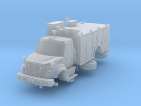 1/87 FDNY seagrave Tactical Support Unit in Frosted Ultra Detail