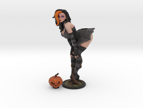 Pumpkin pinup 210mm in Full Color Sandstone