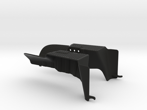 Axial Wraith Rear Inner Fenders in Black Natural Versatile Plastic