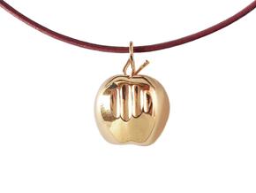 Mela pendant in Polished Bronze