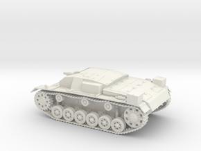 VBA Stug III Ausf A 1:48 28mm Wargames in White Natural Versatile Plastic