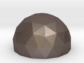 Geodesic Dome 3v 6cm in Stainless Steel