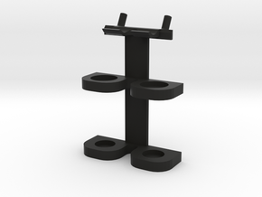 Pegboard Hammer Holder in Black Strong & Flexible