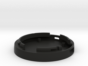 Bottom Of The SmartDock  for AppleWatch in Black Natural Versatile Plastic