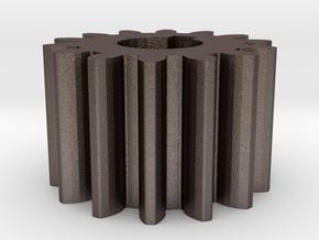 Cylindrical gear Mn=1 Z=14 AP20° Beta0° b=10 HoleØ in Stainless Steel