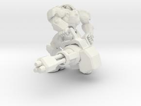 1/60 Terran Hero Soldier Tychus in White Natural Versatile Plastic