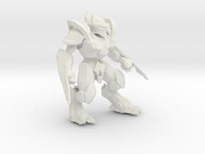 1/60 Protoss Zealot in White Strong & Flexible