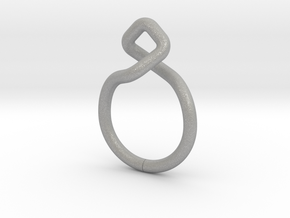 Dancing D.01, Ring US size 3, d=14mm  in Aluminum: 3 / 44