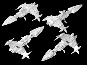(Armada) Majestic-class heavy cruiser in White Strong & Flexible