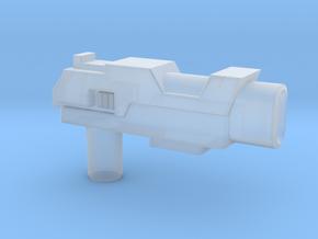 Arcee TFTM Pistol, 5mm in Smooth Fine Detail Plastic