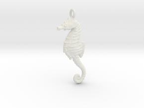 Sea Horse 1610261358 in White Strong & Flexible