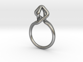 Dancing D.022, Ring US size 5.5, d=16mm in Natural Silver: 5.5 / 50.25