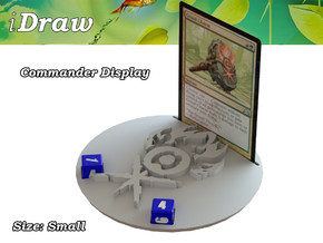 Commander Display Gruul in White Natural Versatile Plastic: Small