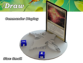 Commander Display Jund in White Natural Versatile Plastic: Small