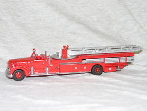 Seagrave 1951 1:64 in White Natural Versatile Plastic