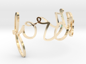 Forever Ring in 14K Yellow Gold: 10 / 61.5