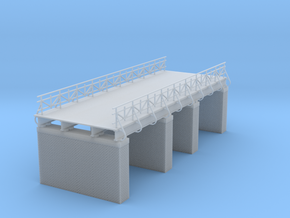 European Railroad Bridge Zscale in Smooth Fine Detail Plastic