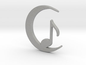 Eighth Crescent Moon in Aluminum
