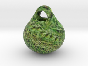Grass-Colored ORNAMENT in Full Color Sandstone
