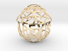 Alexis Lovaball in 14k Gold Plated Brass