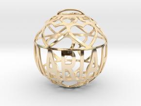 Mariah Lovaball in 14k Gold Plated Brass