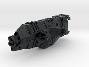 """Taiidan """"Qwaar-Jet"""" Heavy Cruiser in Black Hi-Def Acrylate"""