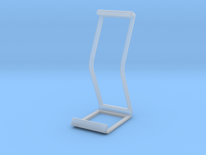 Ipad Stand V2 material saver in Smooth Fine Detail Plastic
