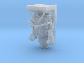 1/64th Diesel Electric Generator  in Smooth Fine Detail Plastic
