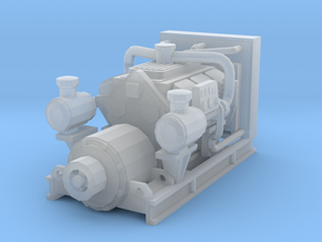 1/87th Diesel Electric Generator in Smooth Fine Detail Plastic