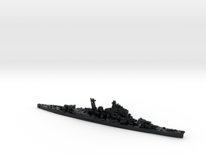 IJN CA Maya [1944] in Black Hi-Def Acrylate: 1:1800