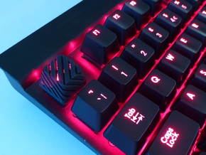 Sliced Cherry MX Keycap in Black Strong & Flexible