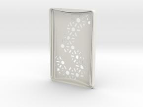 Card Holder in White Natural Versatile Plastic