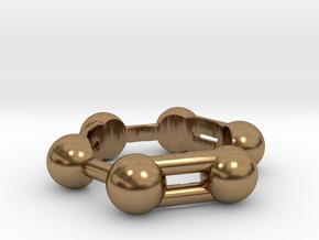 Benzene Ring Molecule in Natural Brass: 6.5 / 52.75