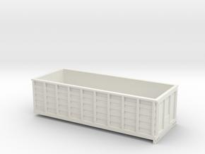 1/64 20 Foot Grain Bed in White Natural Versatile Plastic