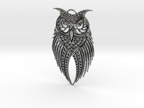 Who's Owling? in Polished Silver