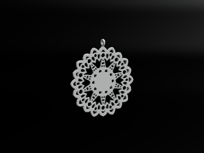 Design for earring - SK0026A in White Natural Versatile Plastic