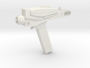 Type 2 Phaser (Star Trek Classic), 1/1 in White Natural Versatile Plastic