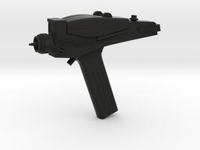 Type 2 Phaser (Star Trek Classic), 1/6 in Black Natural Versatile Plastic