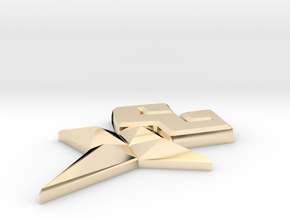 Wayfinder in 14K Yellow Gold: Medium